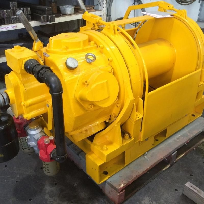 10 Tonne Air Winch For Hire - I and M Solutions