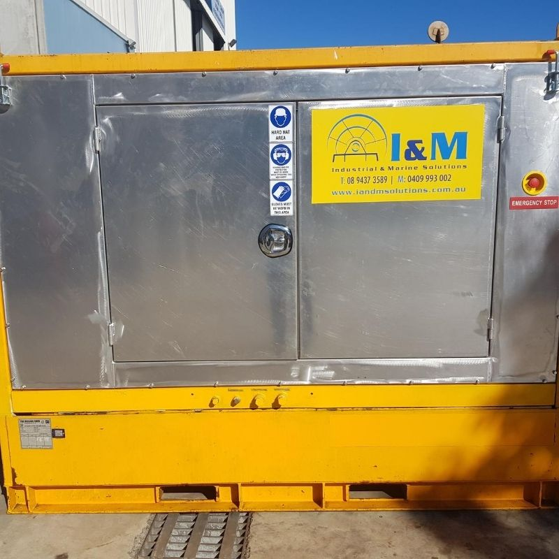 100kW Diesel Hydraulic Power Unit For Hire - I and M Solutions