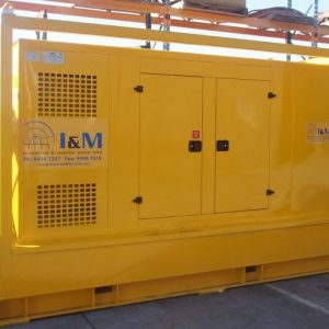 120kW Diesel Driven Hydraulic Power Unit For Hire - I and M Solutions