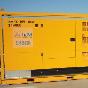 120kW Diesel Hydraulic Power Unit For Hire - I and M Solutions