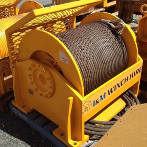 15 Tonne Hydraulic Winch For Hire - I and M Solutions