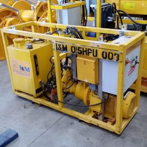 15kW Electric Hydraulic Power Unit For Hire - I and M Solutions