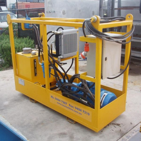 15kW Electric Power Unit For Hire - I and M Solutions