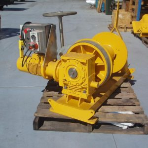 2 Tonne Electric Winch For Hire - I and M Solutions