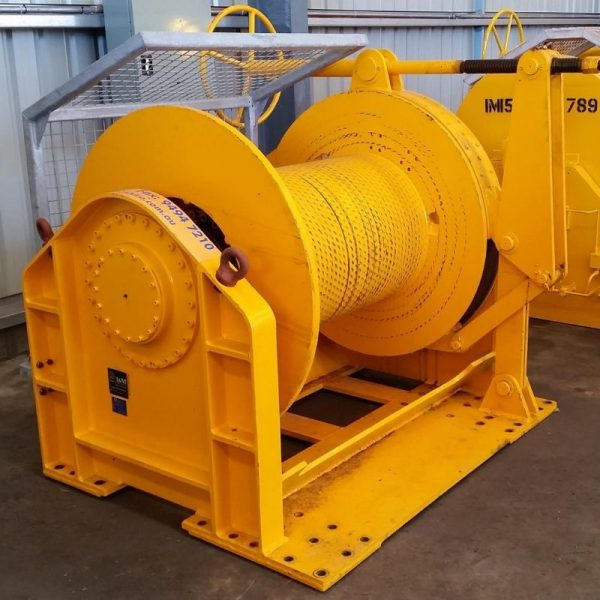 20 Tonne Hydraulic Winch For Hire - I and M Solutions