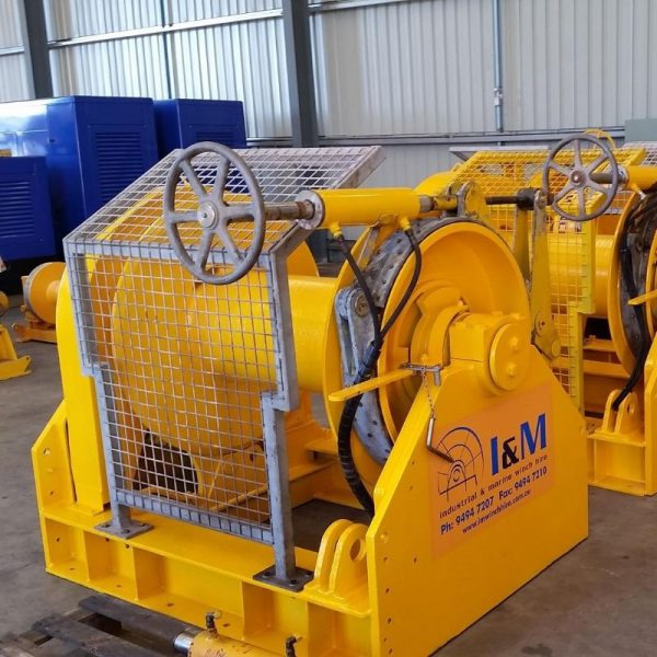 20 Tonne Mooring Winch For Hire - I and M Solutions
