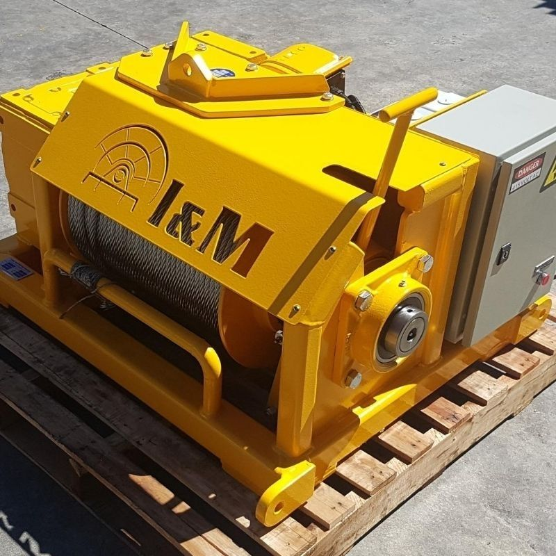 3 Tonne Electric Winch For Hire - I and M Solutions (2)