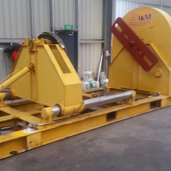 30 Tonne Hydraulic Spooler For Hire - I and M Solutions