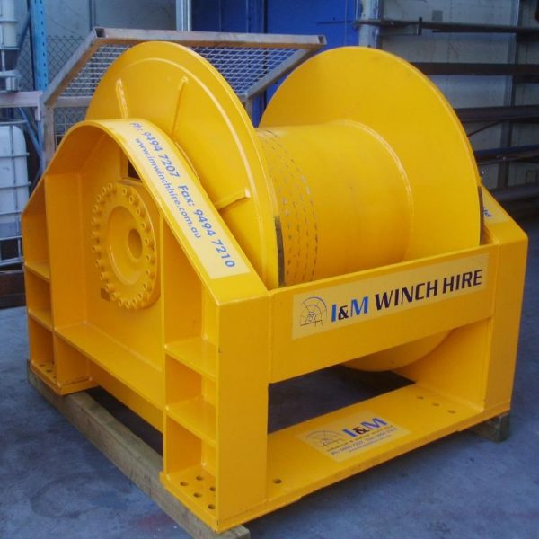 30 Tonne Hydraulic Winch For Hire - I and M Solutions