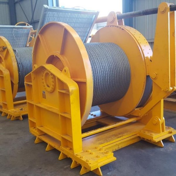 30 Tonne Mooring Winch For Hire - I and M Solutions