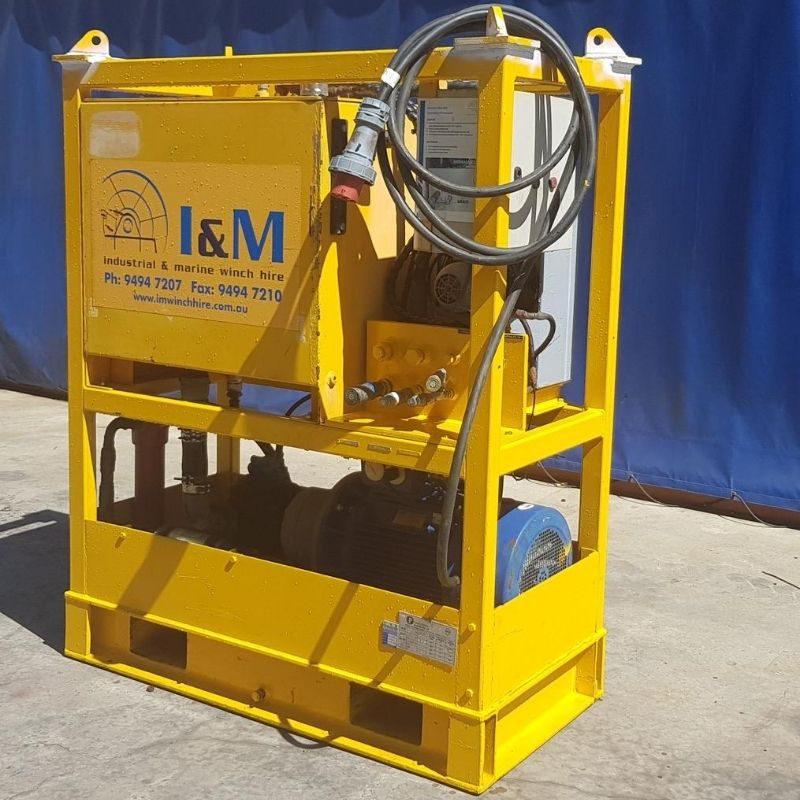 30kW Electric Power Unit For Hire - I and M Solutions