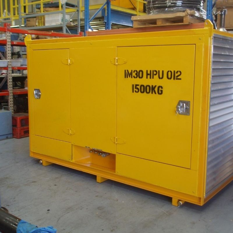 30kW Hydraulic Power Unit For Hire - I and M Solutions