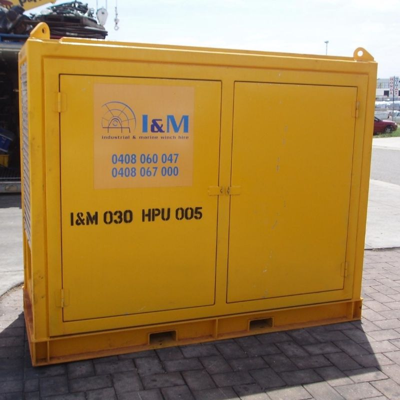 30kW Perkins Hydraulic Power Unit For Hire - I and M Solutions