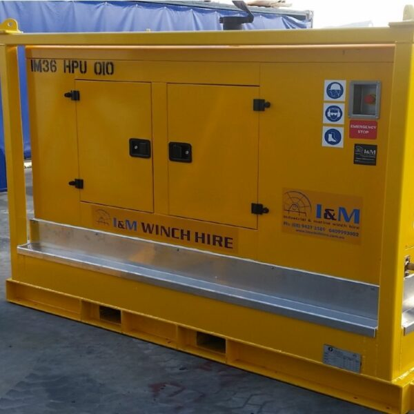 36kW Cummains Hydraulic Power Unit For Hire - I and M Solutions