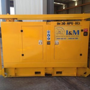 36kW Diesel Driven Hydraulic Power Unit For Hire - I and M Solutions