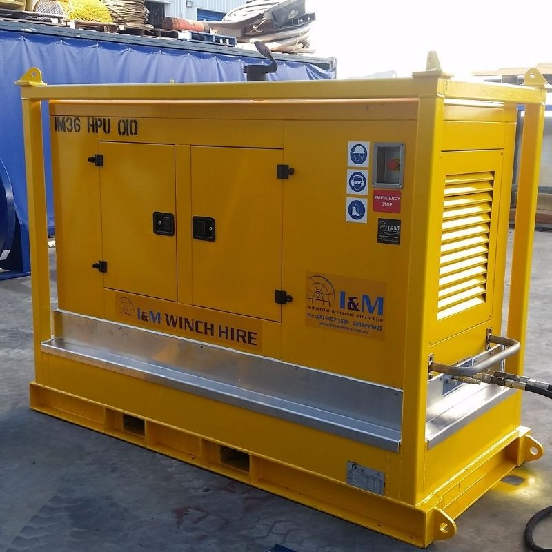 36kw Cummins Hydraulic Power Unit For Hire - I and M Solutions