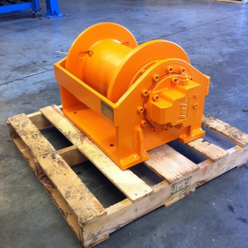 5.7 Tonne Hydraulic Winch For Hire - I and M Solutions