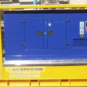 50kW Cummains Hydraulic Power Unit For Hire - I and M Solutions