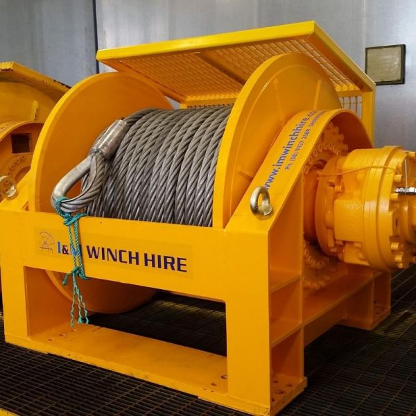 55 Tonne Hydraulic Winch For Hire - I and M Solutions