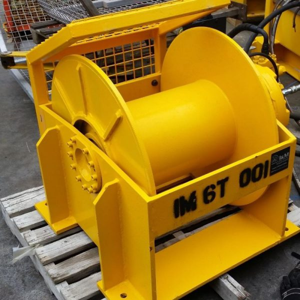6 Tonne Hydraulic Winch For Hire - I and M Solutions