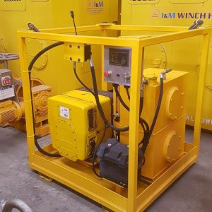 9kW Hydraulic Power Unit For Hire - I and M Solutions