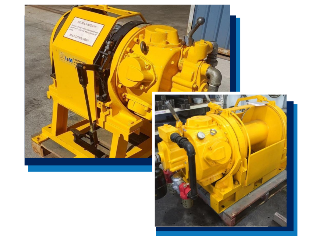 Air Winch Hire - I and M Solutions