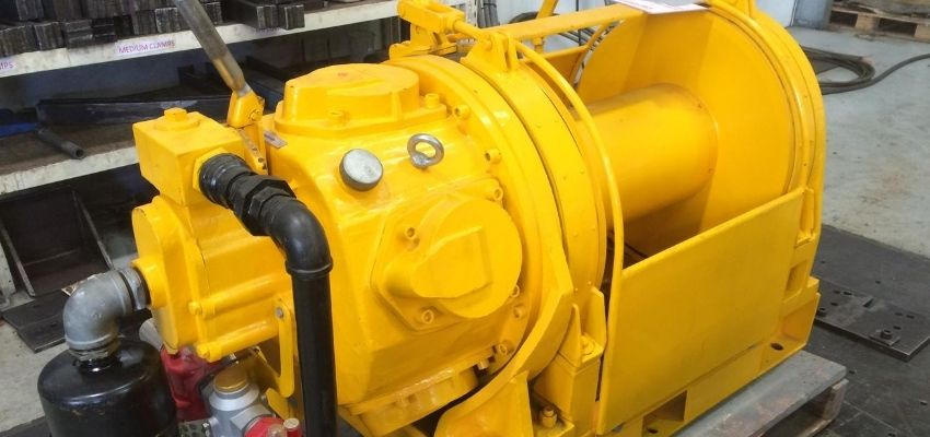 Air Winches For Hire - I and M Solutions