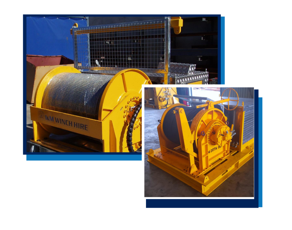 Cable Hauling Winches - I and M Solutions