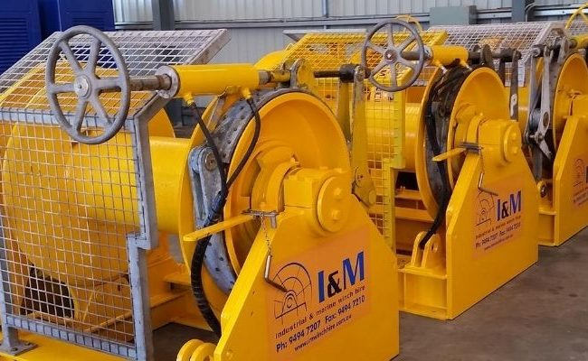 Mooring Winches For Hire